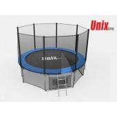 Батут Unix Line 12ft с внешней сеткой