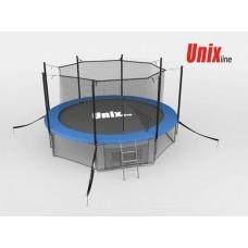 Батут Unix Line 14ft с внутренней сеткой