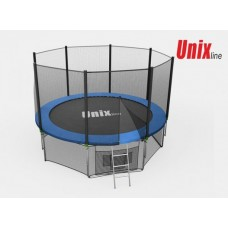 Батут Unix Line 8ft с внешней сеткой