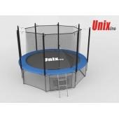Батут Unix Line 8ft с внутренней сеткой