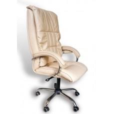 Офисное массажное кресло EGO BOSS EG1001 в комплектации LUX (карамель)