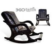 Массажное кресло-качалка EGO WAVE EG-2001 в комплектации LUX