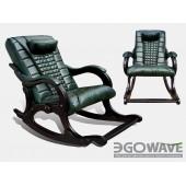 Массажное кресло-качалка EGO WAVE EG-2001 ELITE (цвет Малахит)