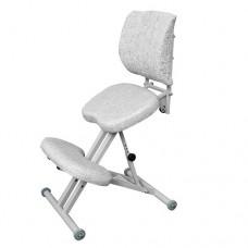 Эргономичный коленный стул со спинкой ОЛИМП СК-2