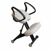 Эргономичный коленный стул ОЛИМП СК-4 Титан
