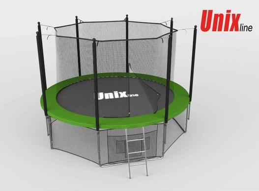 Батут Unix Line 12 ft с внутренней сеткой
