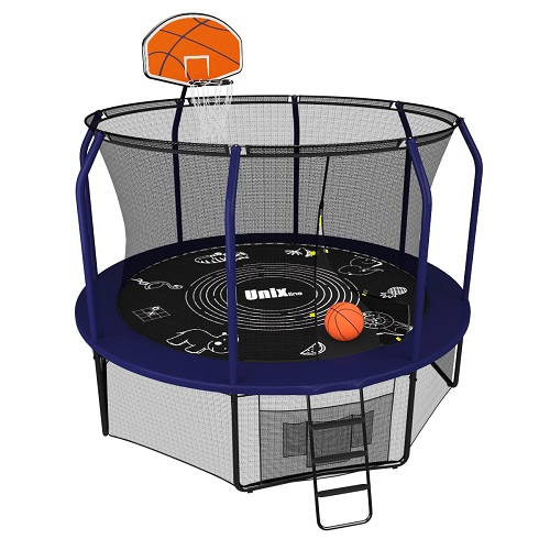 Батут UNIX line SUPREME GAME 10 ft + Basketball от 34 390 руб