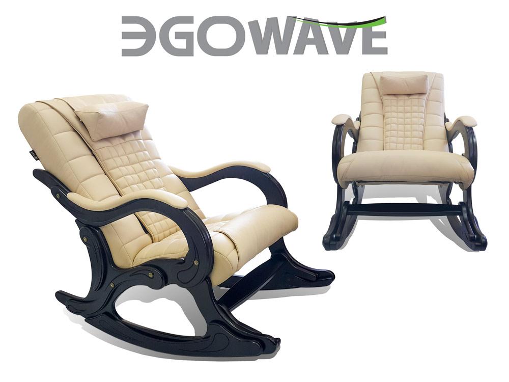 Массажное кресло-качалка EGO WAVE EG-2001 ELITE (цвет Малахит) - 4